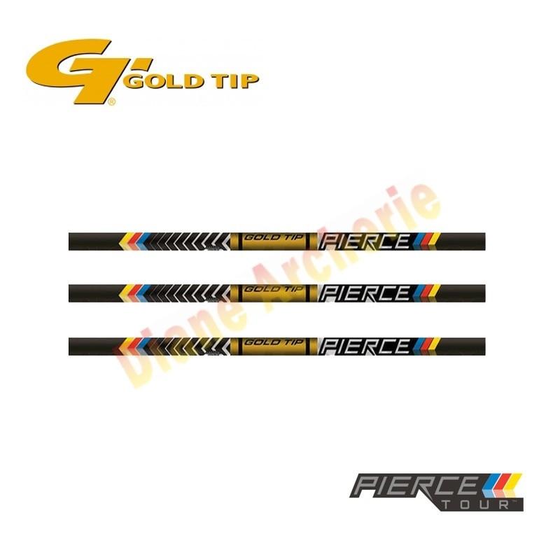 Lot de 12 tubes GOLD TIP Pierce Tour