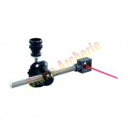 Tête de viseur classique 8-32 + oeilleton fibre ARC SYSTEME