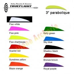 """Plume TRUEFLIGHT 3"""" parabolique"""