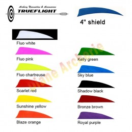 "Plume TRUEFLIGHT 4"" shield"