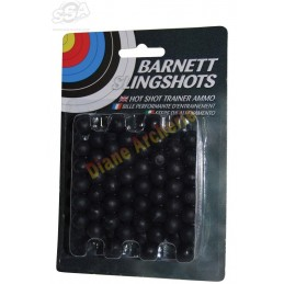 Lot de 100 billes BARNETT