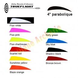"""Plume TRUEFLIGHT 4"""" parabolique"""