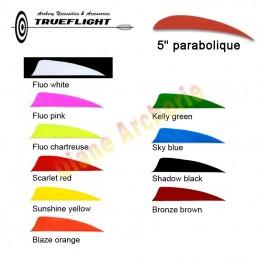 """Plume TRUEFLIGHT 5"""" parabolique"""