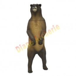 Cible 3D SRT Grizzly debout - Groupe 1