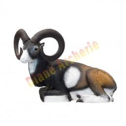 Cible 3D SRT Mouflon couché - Groupe 2