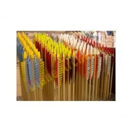 Flèche bois traditionnelle DIANE ARCHERIE 5/16 ou 11/32