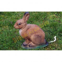 Cible 3D NATUR FOAM Lapin assis 1 - Groupe 4