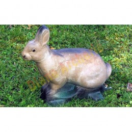 Cible 3D NATUR FOAM Lapin assis 2 - Groupe 4