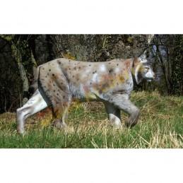 Cible 3D NATUR FOAM Lynx marchant - Groupes 2/4