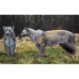 Cible 3D NATUR FOAM Puma debout - Groupe 2/3