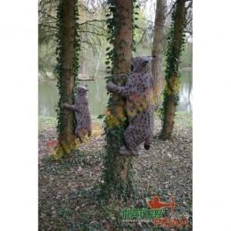 Cible 3D NATUR FOAM Lynx grimpant - Groupes 1/2/3