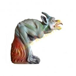 Cible 3D NATUR FOAM Perroquet cornu démoniaque - Groupes 3/4