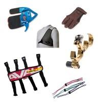 Boutique en ligne d'accessoires de décoche et protection pour archer.